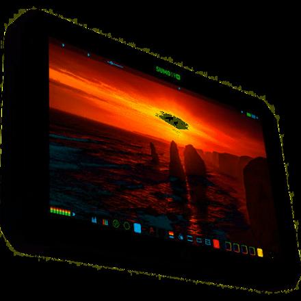 "Atomos SUMO19M 19"" monitor  w/ batteries stand etc"