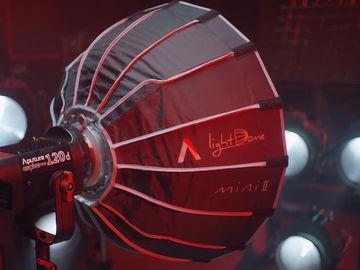 Aputure LS 120d ii + Light Dome Mini ii + 2 V-mounts + Stand