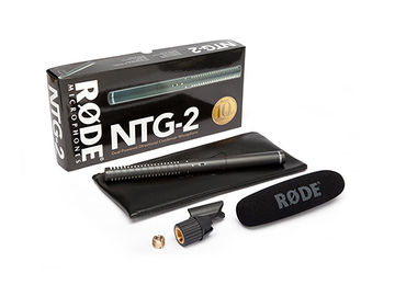 Rode shotgun mic NT2