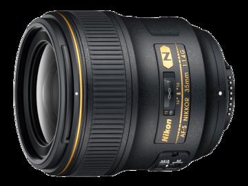 Rent: Nikon 35mm 1.4 AF Prime Lens + Gear + Sony Adapter - FF
