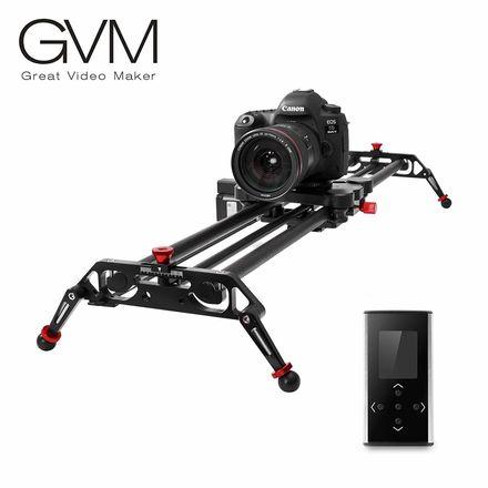 "GVM 48""Carbon fiber Motorized DSLR Camera Track Dolly Slider"