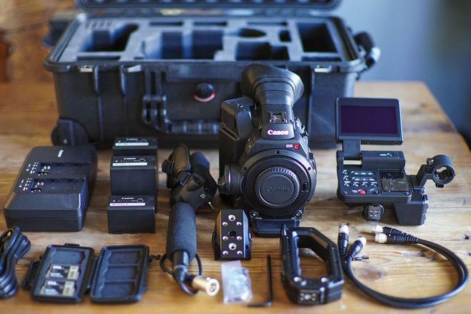 Canon EOS C300 Mark II w/ 24-105