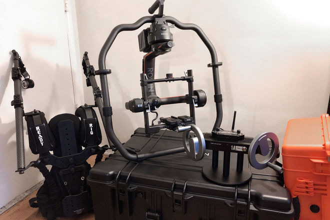 DJI Ronin 2 Pro w/ Alpha Wheels (+6 Batts & Ready Rig)