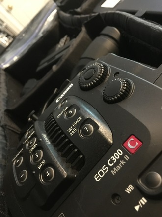Canon C300 Mark II, EF, Media & Batts (1 of 4)
