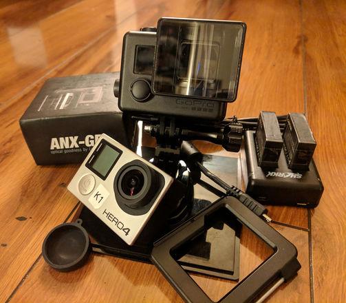 GoPro 4K Letus 1.33x Anamorphic Kit (Hero4 Black)