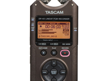 Rent: Tascam DR-40 with Carrying Case