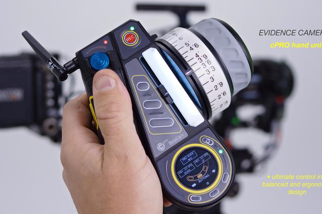 cMotion cPRO Lens Control System w/ RF cFORCE motors