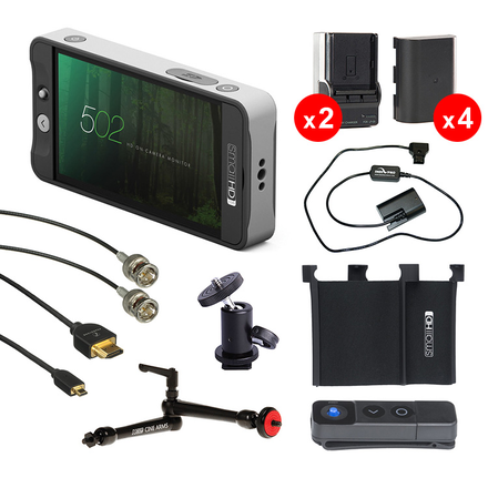 "SmallHD 502 5"" Monitor - SDI / HDMI Kit"