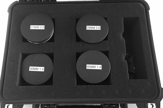 Zeiss EF Lens Set (with focus gears)