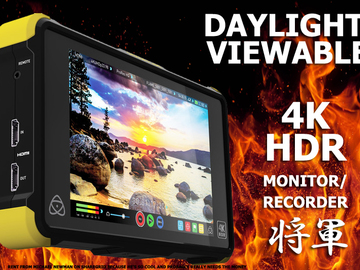 Rent: Atomos Shogun Flame 4K Recorder and HDR Monitor