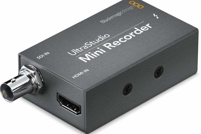 Blackmagic Design UltraStudio Mini Recorder w/ 2M Cable (A)