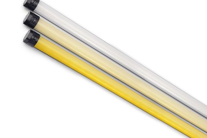Quasar Crossfade Tubes - (3) 4ft + (2) 2ft + Dimmers