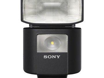 Rent: Sony HVL-F45RM Compact External Radio Wireless Flash