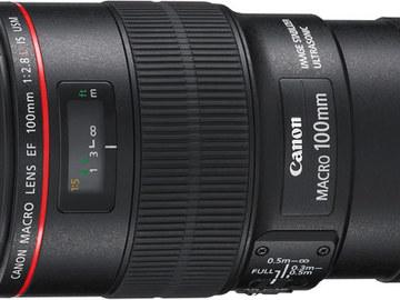 Rent: Canon L series 100mm macro F2.8 IS