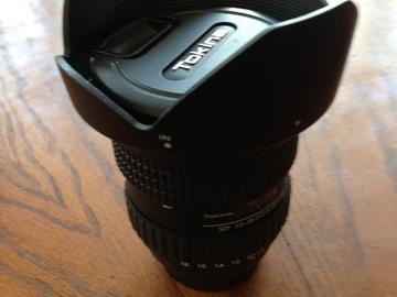 Tokina 11-16 Zoom F/2.8 ATX Pro Nikon Mount