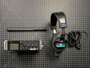 Audio Kit Sennheiser MKH416 Complete Recording Package