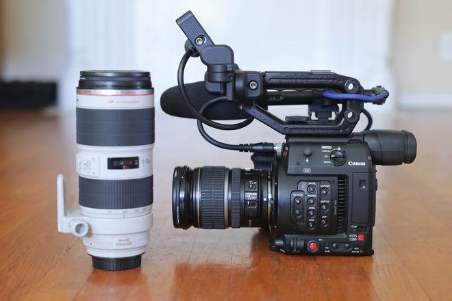 Canon EOS C200 Docu package