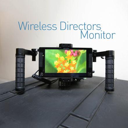 Wireless Directors Monitor -Teradek SDI/HDMI + Atomos Shogun