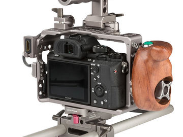 Rent: Sony a7rii package w/cage, Canon 24-105, EF adapters, tripod