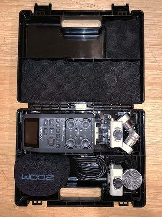 Complete Audio Package w/ Zoom H6, Sennheiser G4 Wireless