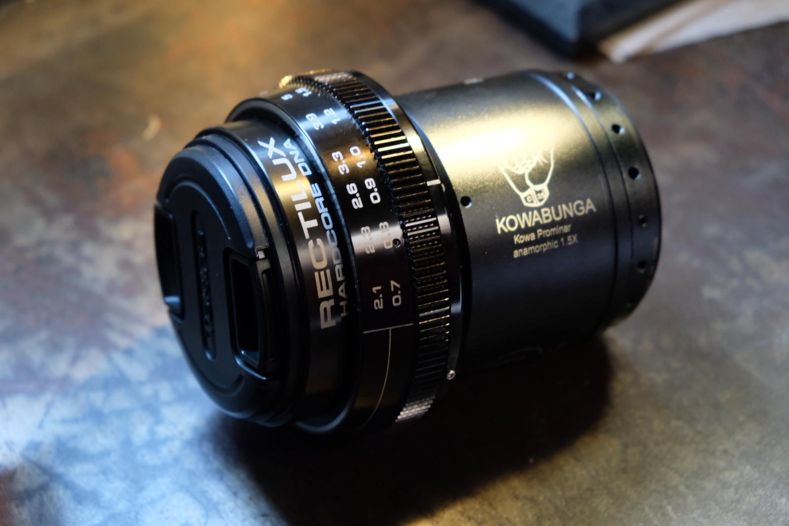 For Sale: Kowa Prominar C35 1 5x Anamorphic Lens Kit | ShareGrid