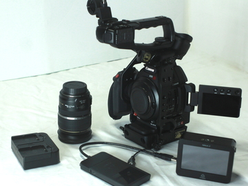 Rent: Canon C100 Mark II w/ Ninja II package