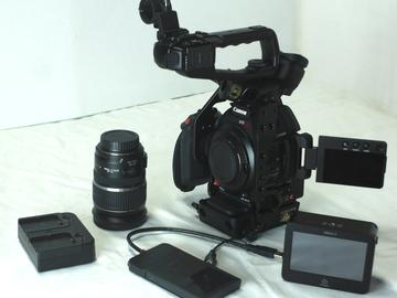 Canon C100 Mark II w/ Ninja II package