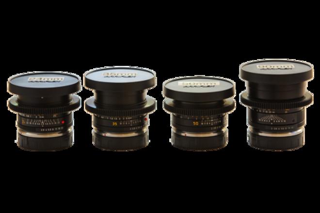 Leica R Series set of 6 lenses
