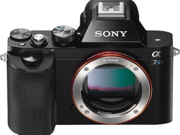 Rent: Sony Alpha A7s II Camera with Metabones EF Adapter 1 of 2