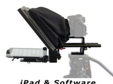 Rent: Tablet Teleprompter with iPad