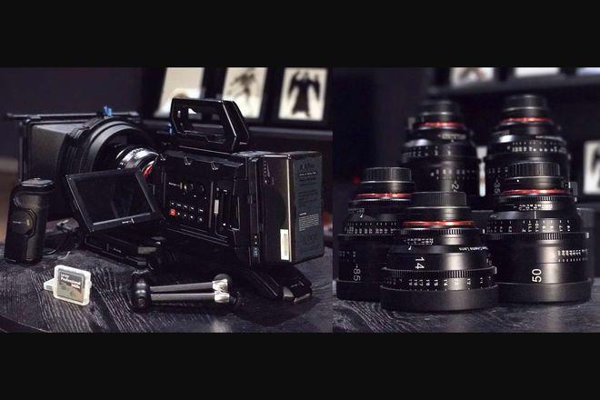 Blackmagic URSA Mini 4.6k FULL KIT with Xeen Cinema Lenses