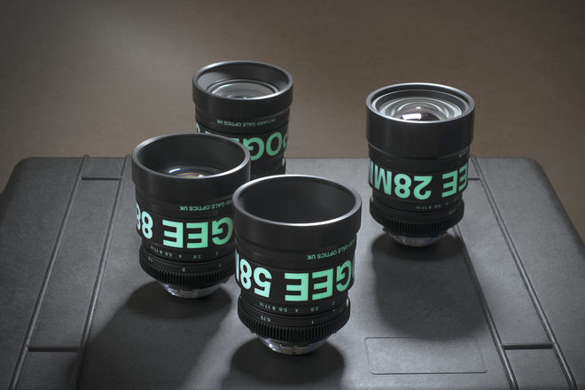 Richard Gale Optics Apogee Lens Kit - 28mm, 38mm, 58mm, 88mm