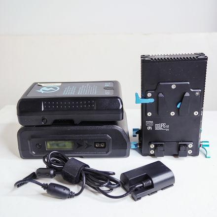Fotga DP500 Canon LP-E6 V-Mount Power Supply Kit for 5D/6D