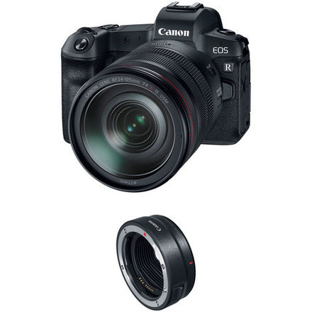 Canon EOS R Mirrorless Camera with 24-105mm f/4