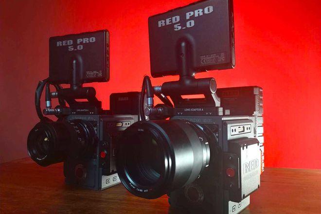 RED Scarlet-W Dragon 5K - DOUBLE DRAGON KIT!