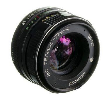Helios 77M-4 50mm f/1.8 - Canon EF, Fujiflm XF, Sony E mount