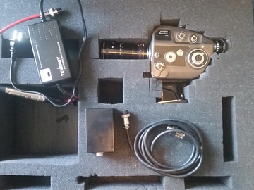 Rent: 1960's Beaulieu S2008 Super 8mm camera + Angenieux 8-65 zoom