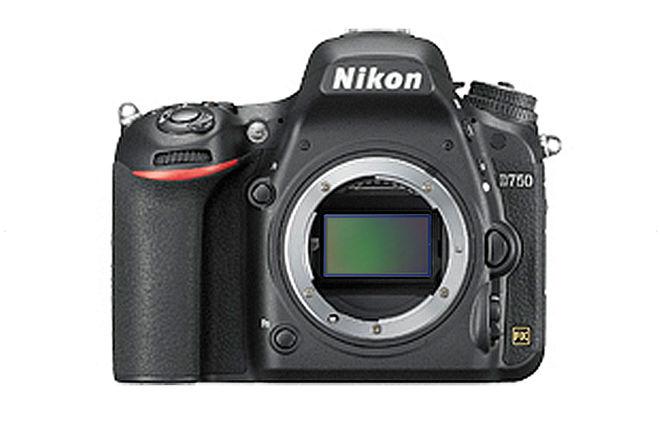 Nikon D750 FX-format Digital SLR Camera Body (Full-Frame)