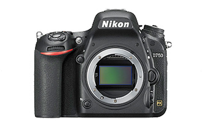 Nikon D750 FX-format Digital SLR Camera Body (Full-Frame)