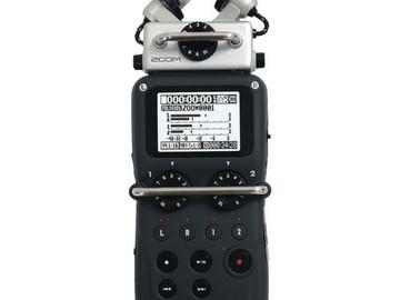 Rent: Zoom H5 Handy Audio Recorder w/ 16GB card