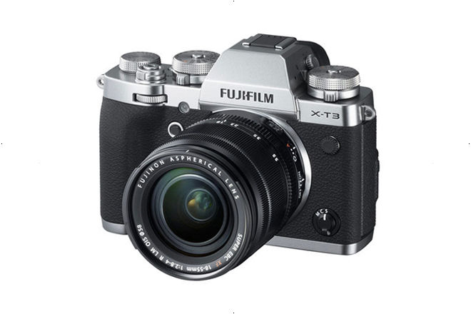 Fujifilm X-T3 with 18-55mm Lens