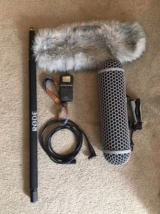 Rode NTG3 Shotgun Microphone package(no recorder)