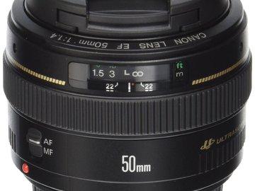 Canon 50mm f1.4 EF Mount
