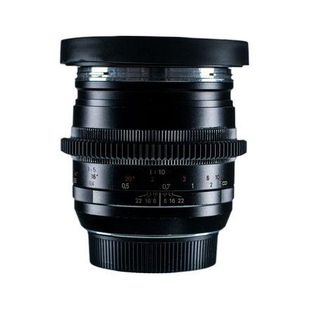 Zeiss 50mm f/2 Makro-Planar ZE - w/ Duclos Cine-Mod