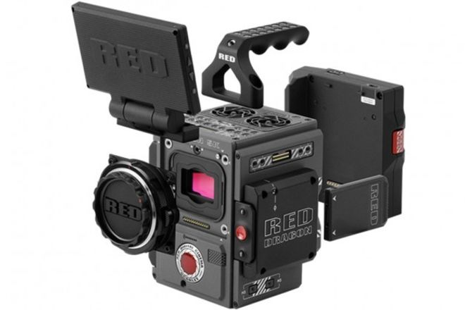 RED Scarlet-W Dragon 5K Shooting Package