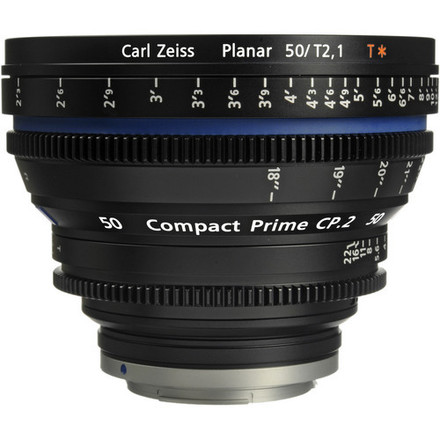 Zeiss CP.2 50mm Cine Lens (EF Mount or Sony-E)