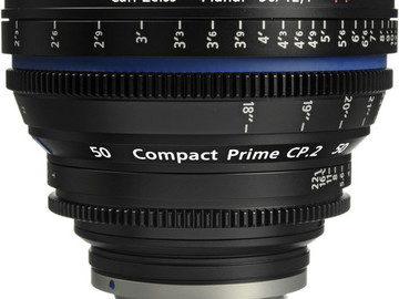 Rent: Zeiss CP.2 50mm Cine Lens (EF Mount or Sony-E)