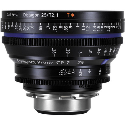 Zeiss CP.2 25mm Cine Lens (EF Mount or Sony-E)