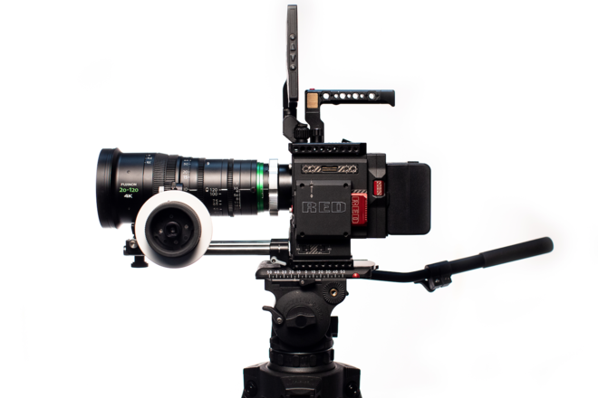 Red Weapon Helium 8k + Fujinon 20-120 T3.5 Package EF/PL