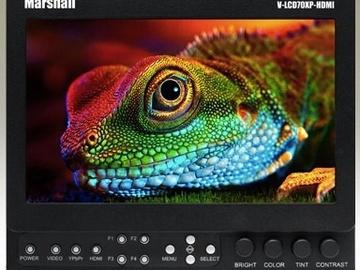 "Rent: Marshall V-LCD70XP-HDMI-SL 7"" LCD Monitor"
